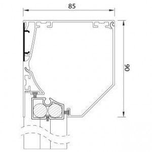 RS Smart 85 Schuin